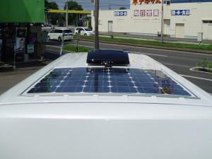 ■薄型ソーラーパネル145W180,000円(税別)