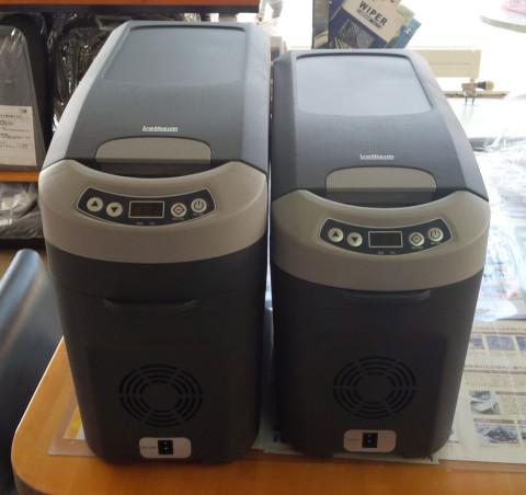 ■ベバストポータブル冷蔵庫(左18ℓ・右15ℓ)