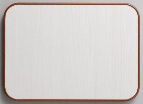■家具色:白(ふちのモールは茶・こげ茶・黒から選べます)