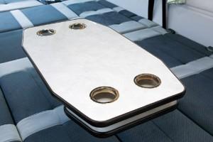 ■脱着式テーブル カップホルダー付